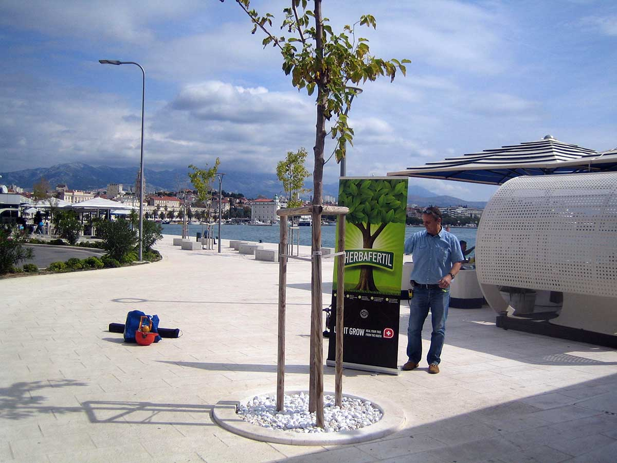 Ugradnja Herbafertila u Splitu